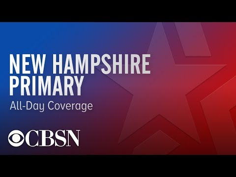 Watch Live Coverage: New Hampshire Primary | CBSN