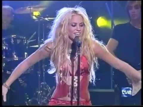 Shakira - Suerte (Whenever Wherever) (Musica Sí 2001)