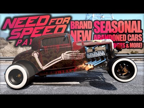 Need For Speed Payback - NEW Seasonal Abandoned Car Dates! Lamborghini Diablo, Jaguar F-Type & More!