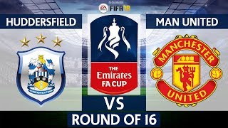 Huddersfield vs Manchester United 0-2 | The Emirates FA Cup 5th Round 2017/18 | 17/02/2018