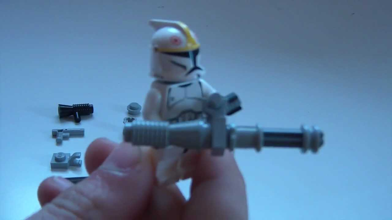 lego minigun tutorial youtube. Black Bedroom Furniture Sets. Home Design Ideas