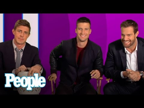 Enlisted' Stars Talk About Their Male Parts | People
