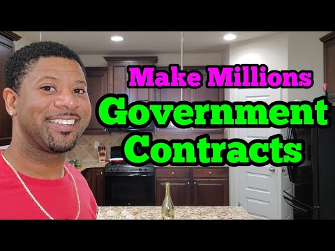 Make Millions with Government Contracts and Grants, Small Business Government Contracting