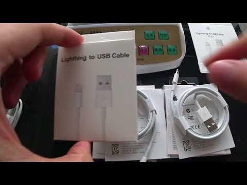 Как отличить кабели для IPhone. Lightning кабель для IPhone оптом