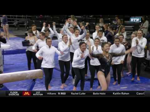 College Gymnastics - 2017-03-11 - Big Five Meet #2