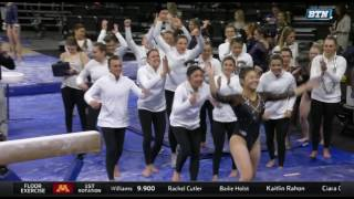 College Gymnastics - 2017-03-11 - Big Five Meet #2 (from Iowa)