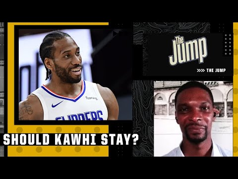 Chris Bosh believes Kawhi Leonard and the Clippers should run it back | The Jump