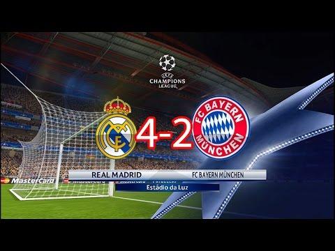 Real Madrid vs Bayern Munchen 4 - 2