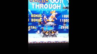 Sonic tgree glitch