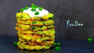Попробуйте это сочетание ингредиентов! Мягкие и пышные кабачковые оладьи!