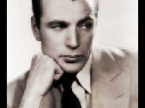 Gary Cooper - You Must Have Been a Beautiful Baby