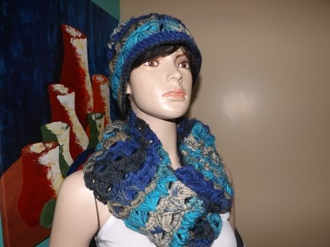 a3f2d1841 Crochet Infinity Broomstick lace Scarf - with Ruby Stedman