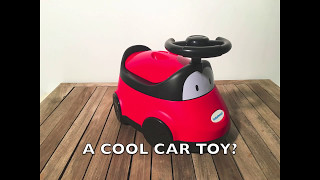 Babyhood car potty makes toilet-training fun for toddlers