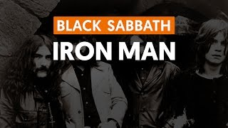 Iron Man - Black Sabbath (aula de guitarra)
