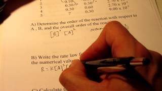 Reaction Kinetics (Rate Law):  Part 2