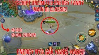 Script Unlimited Energy Fanny di Classic! - Mobile Legends