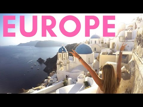 Europe Travel Video PART 1 | GoPro | Contiki | Busabout