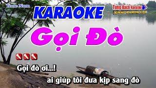 Gọi Đò (Tone Nam) Karaoke 123HD - Nhạc Sống Tùng Bách 1