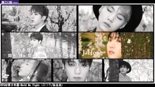 【中字+空耳+認聲】BTS 防彈少年團 - Hold Me Tight (잡아줘/抓住我)