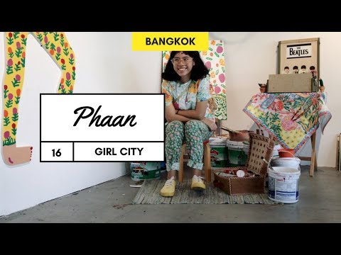 Vintage market tour in Bangkok with Phaan | Episode 16