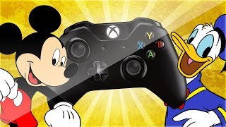 Donald and Mickey TROLLING on Xbox Live