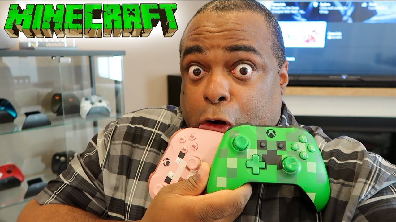 More Xbox One Controllers Minecraft Edition Creeper Pig