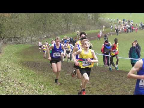Under 15 Boys UK Inter Counties National Cross Country Championships 11032017
