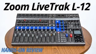 Hands-On Review | Zoom LiveTrak L-12