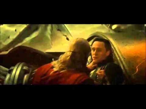 "Loki Dies in Thor The Dark World to ""Mad World"" thor"
