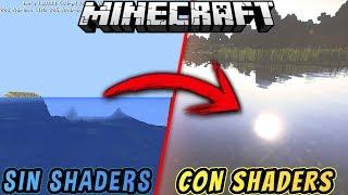El Mejor Shader HD Ultra Realista para Minecraft 1.2 | Textura HD con Shaders! | Texturas Realistas