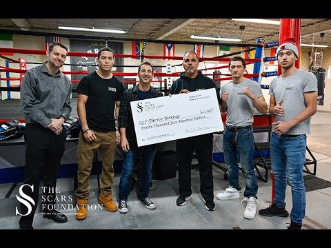 SHROOM - Sully Erna & Scars Foundation Donates $12,500 To Inner-City Youth Boxing