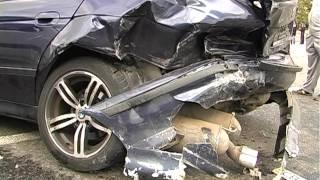 Пьяный Водитель BMW Спровоцировал Серьезное ДТП.