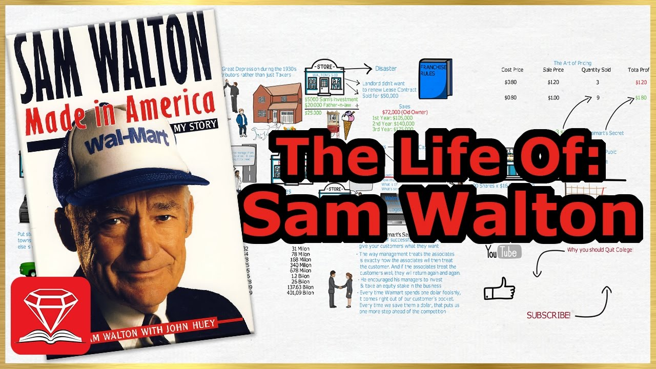 an introduction to the life of sam walton owner of wal mart store Introduction sam and bud walton sam and bud walton's ben franklin store in columbia  bud walton was an integral part of wal-mart's success as the chain.