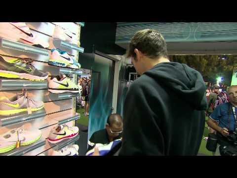 Del Potro Shops At Dubai Duty Free