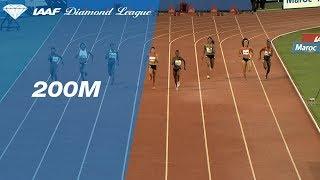 Shaunae Miller-Uibo 22.29 Wins Women's 200m - IAAF Diamond League Rabat 2018