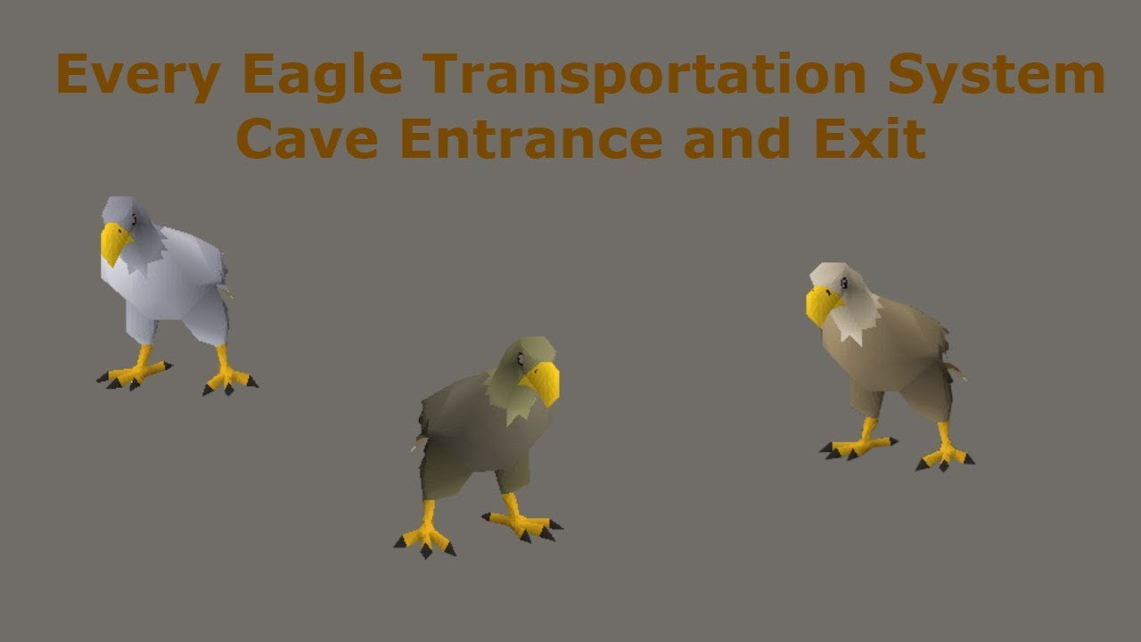 All Entrances And Exits To The Eagle Transportation System In Osrs Youtube The trail is primarily used for hiking, running. all entrances and exits to the eagle transportation system in osrs