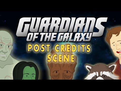 Guardians Of The Galaxy Post Credits Scene