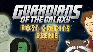 Guardians Of The Galaxy Post Credit Scene Guardians Of The Galax...