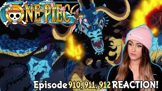 🐉DRAGON TIME! 🐉One Piece Episode 910, 911, 912 REACTION!