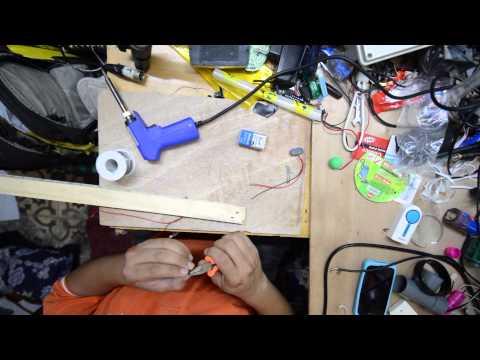 كيفية صنع ادوات للرسم بالضوء diy led for light painting comment fabriquer led pour light