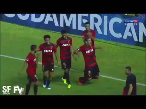 Spectacular Goal By Diego Souza! Sport 3 X 0 Danube - South American Cup 2017