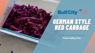 GERMAN STYLE RED CABBAGE | a virtual cooking class by Bull City Fit