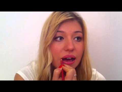 Mund voluminös schminken - YouTube