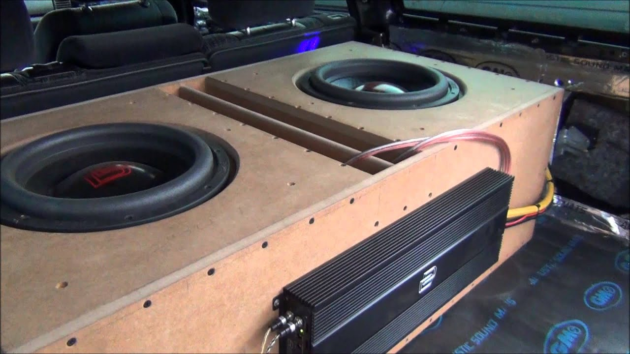 Marian87 car audio - 2x DD 3512 & M2b
