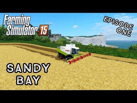 Let's Play Farming Simulator 2015 | Sandy Bay | Episode 1