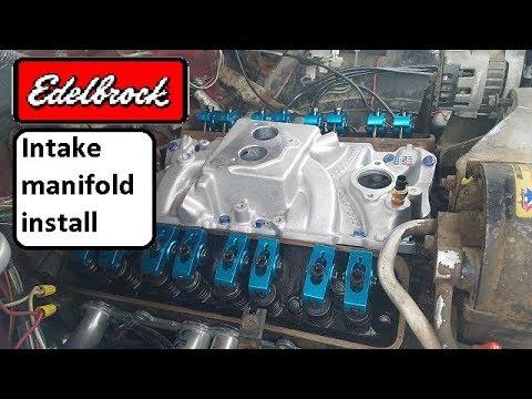 Edelbrock #3704 SBC TBI Intake Manifold Install