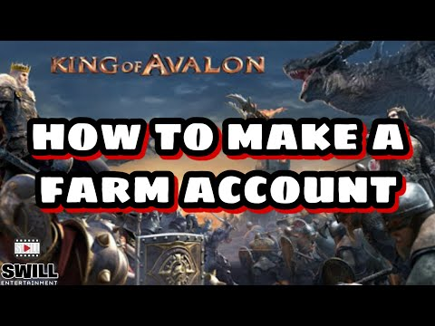 King of Avalon   How To Make a Successful Farm Account (Android IOS)