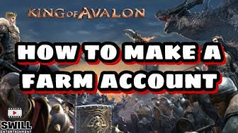 King of Avalon | How To Make a Successful Farm Account (Android IOS)