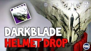 Destiny How to Get the Darkblade Helm | SEXY HELMET!
