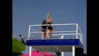 Antalya Beach park Dance Show  Mollig Fledermaus cam antalya1